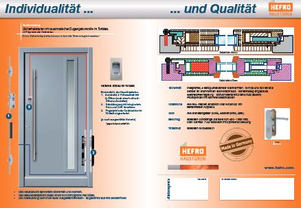 HEFRO Holzhaustüren - Aktion 2013