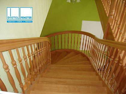 Treppe Buche Gedrechselt